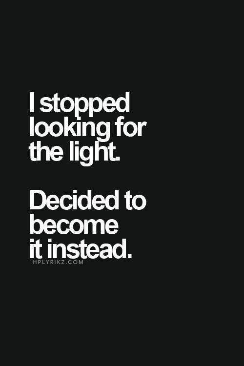 Valo maailmassa..