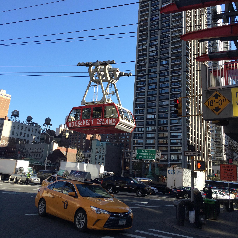 Ensi kertaa New Yorkissa