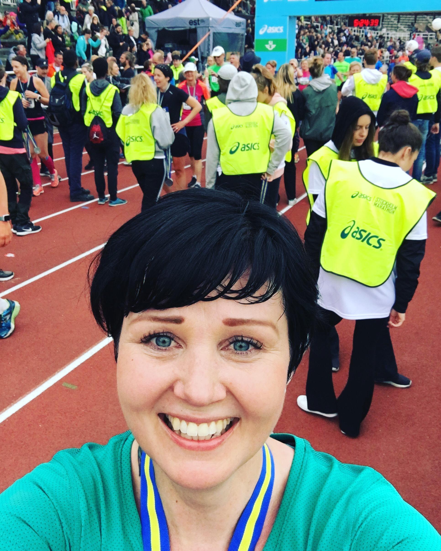 Ensimmäinen maraton on mieletön kokemus!