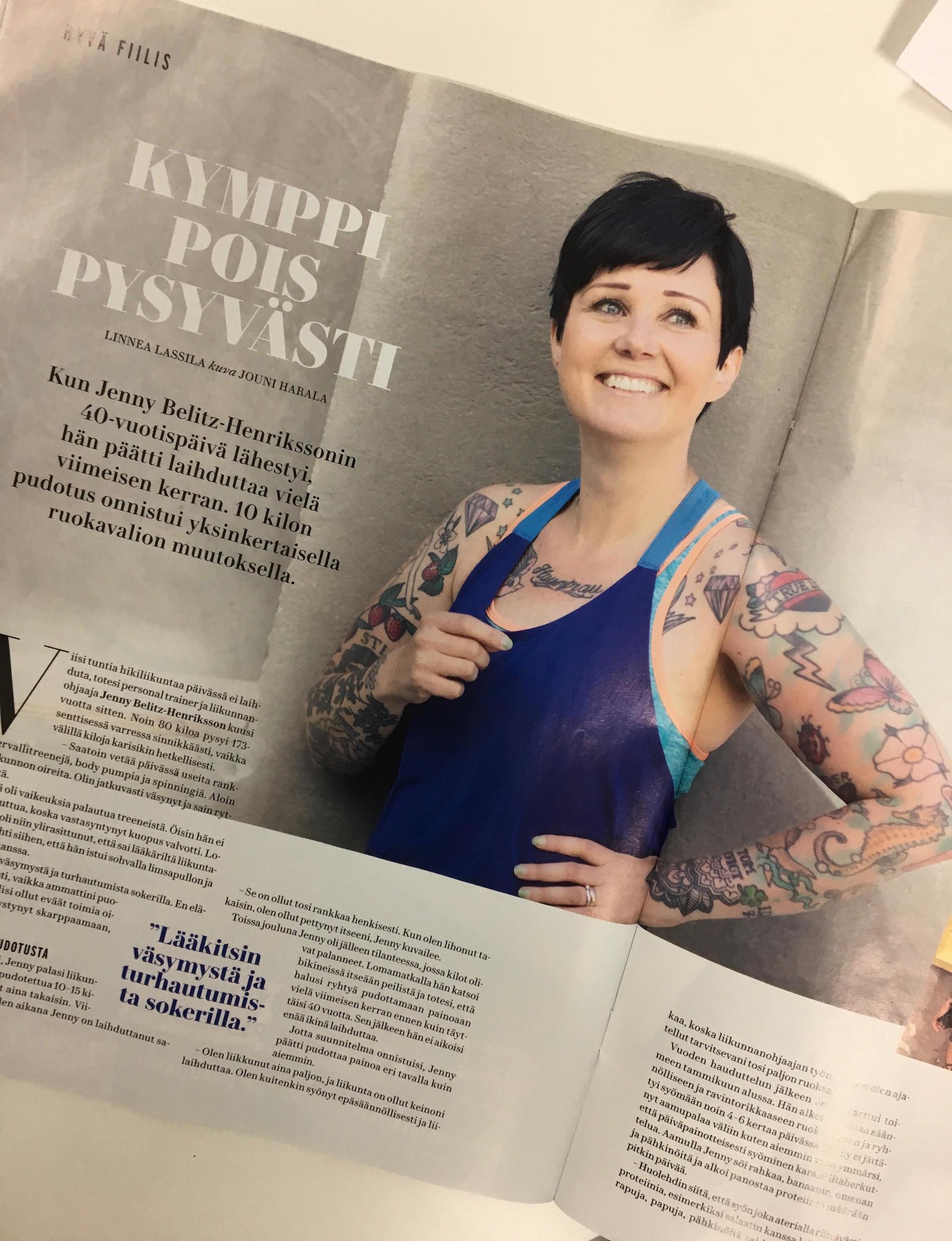 Kymppi pois pysyvästi – juttuni uudessa Me Naiset -lehdessä