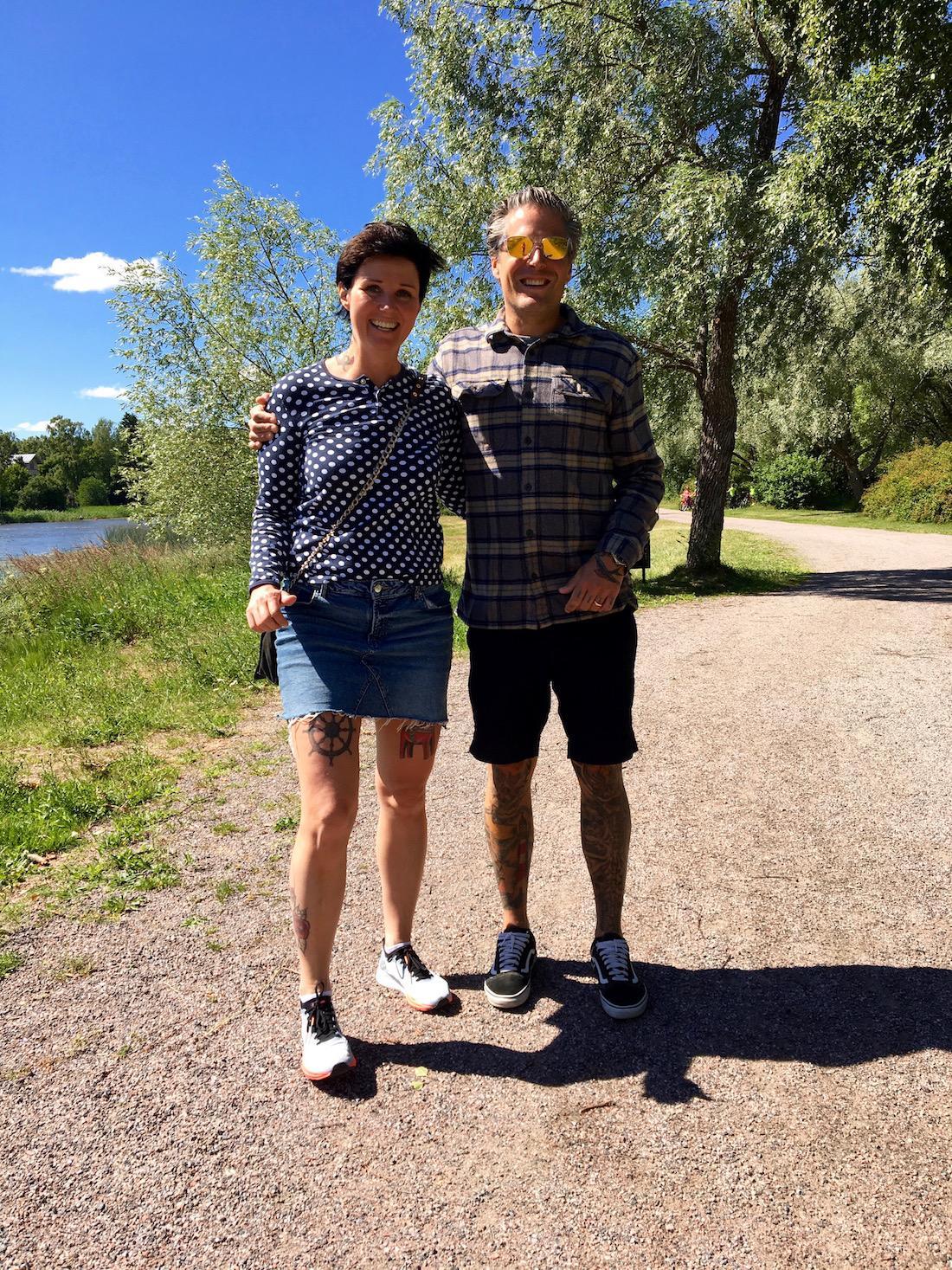 SMIR2018 – lauantaina vähän pidempi lenkki Tukholman saaristossa