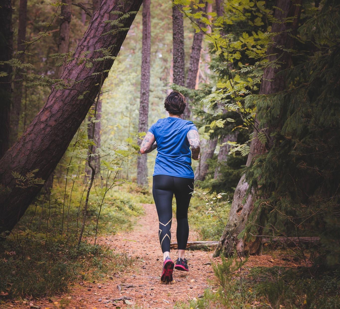 Polkujuoksu – parasta stressinpoistoa