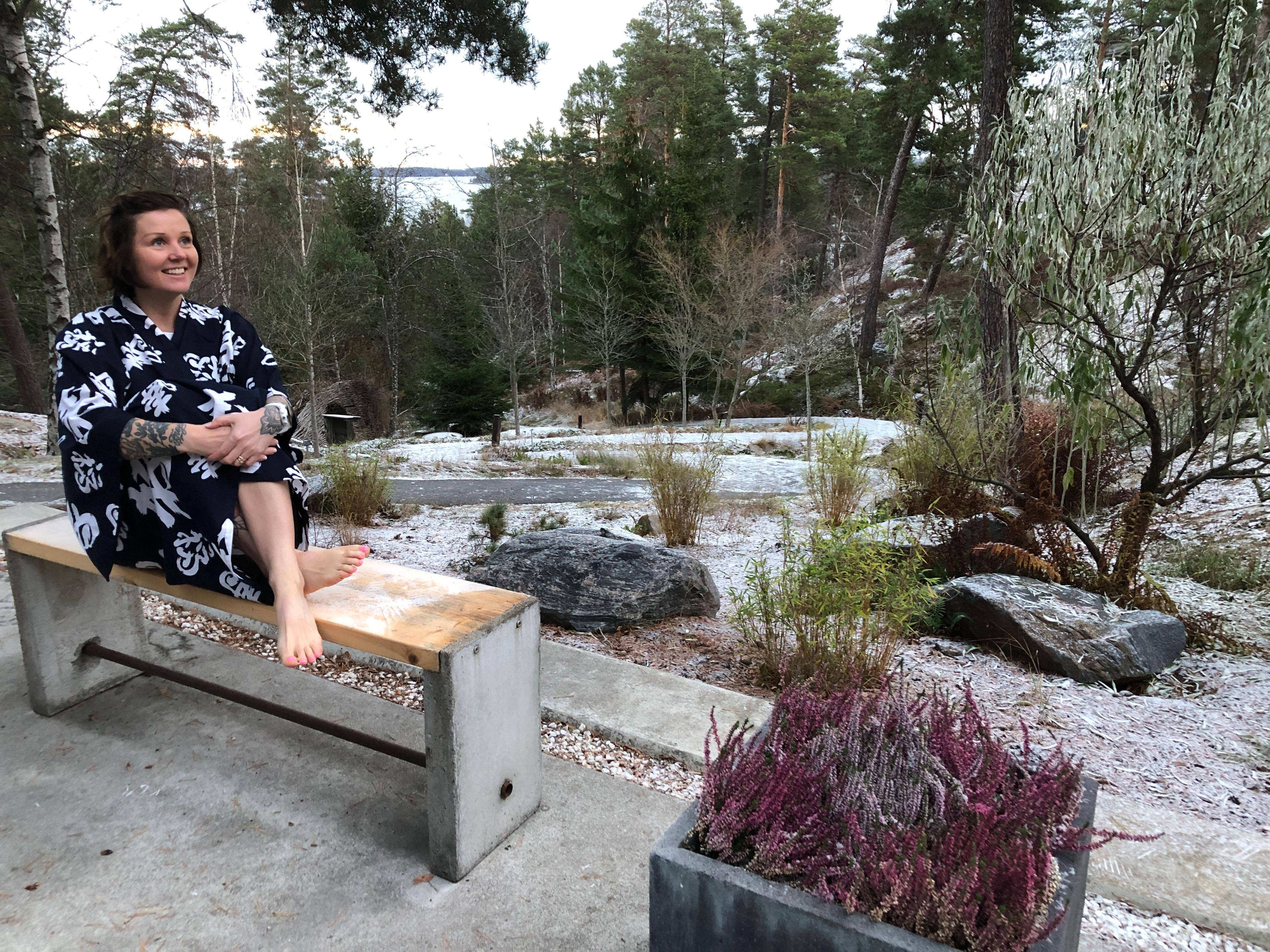 Japanilainen kylpylä Yasuragi Tukholman saaristossa