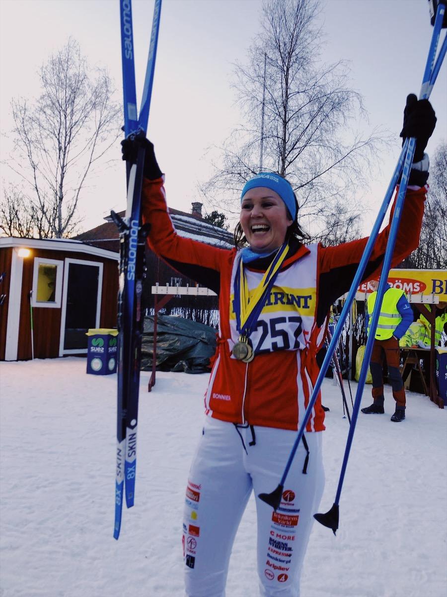 Olipahan hiihto – kylmiltään Vasaloppetin Stafettvasan-hiihtokisaan
