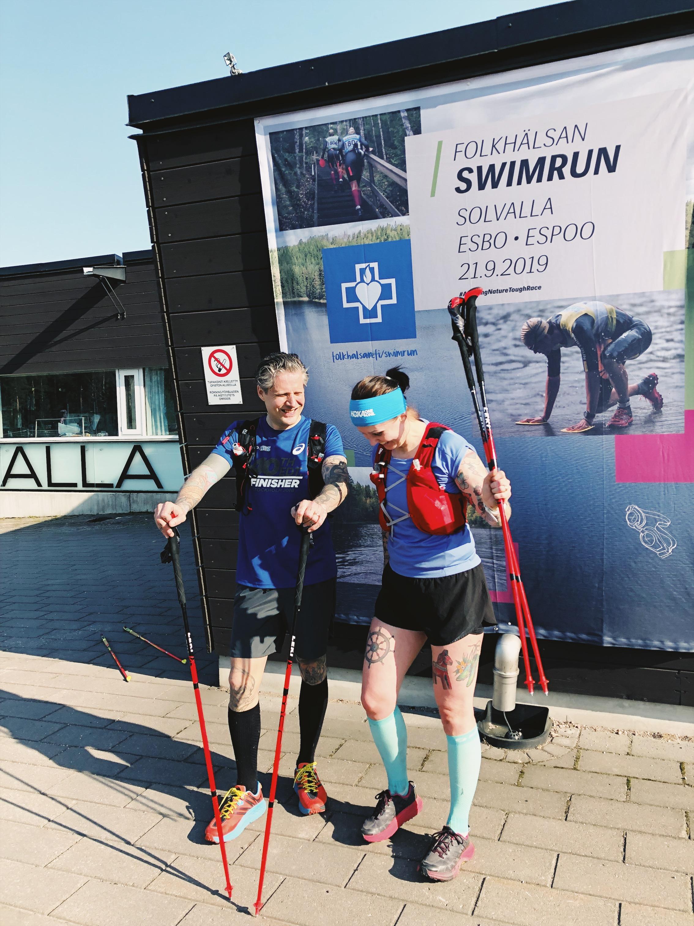 Nuuksiossa polkujuoksemassa – 50 km ja 3 300 nousumetriä alppijengin ja Alppimentorien kanssa