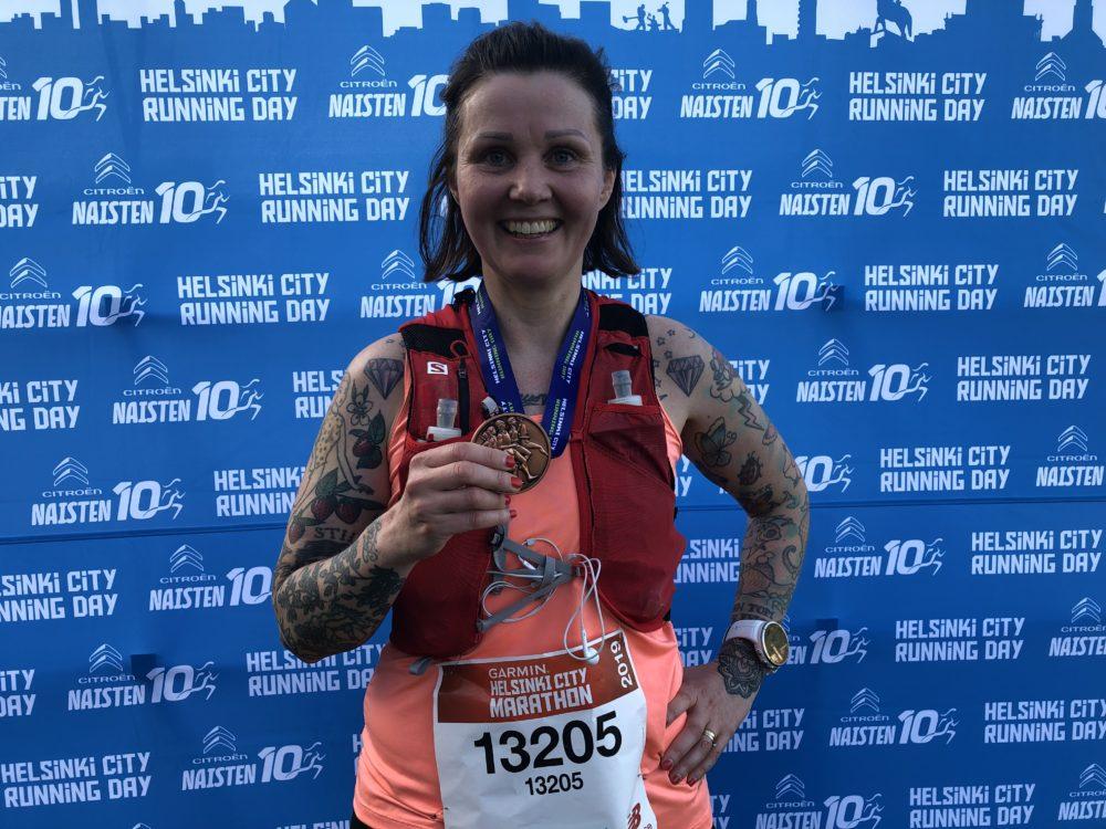 Huonoin valmistautuminen maratonille – paras ja rennoin juoksu koskaan