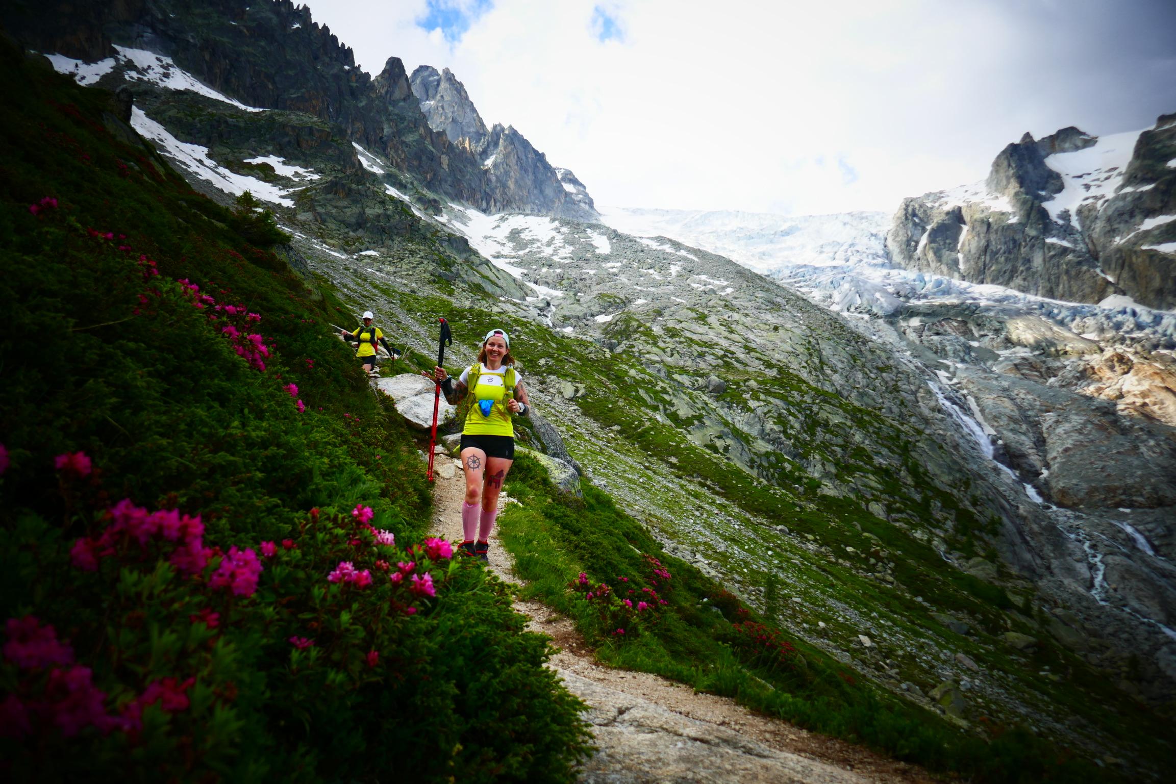 Tour du Mont Blancin reissurapsa jatkuu – koko saldo 160 km ja 10 000 nousumetriä