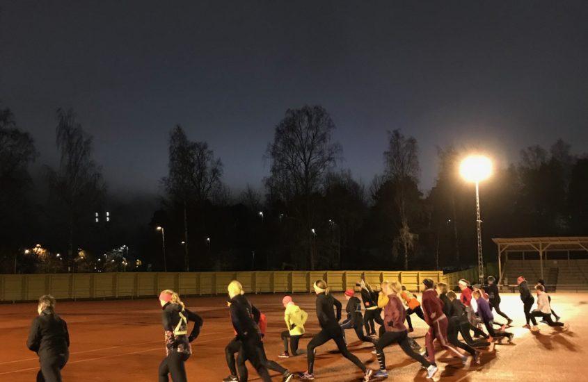 Mahtava juoksukoulusyksy alkaa olla lopuillaan – tammikuun lopussa tavataan taas