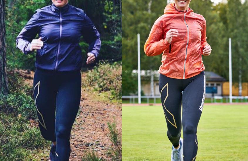 Sama paino, mutta eri kroppa – keho on muuttunut lihaskuntotreenin myötä