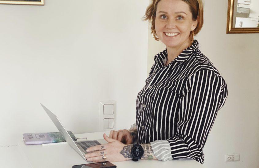 Kotitoimiston ergonomia kuntoon + alekoodi sallille