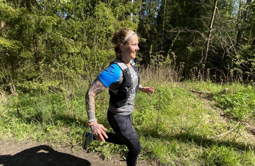 ekalle maratonille semivähillä juoksuilla