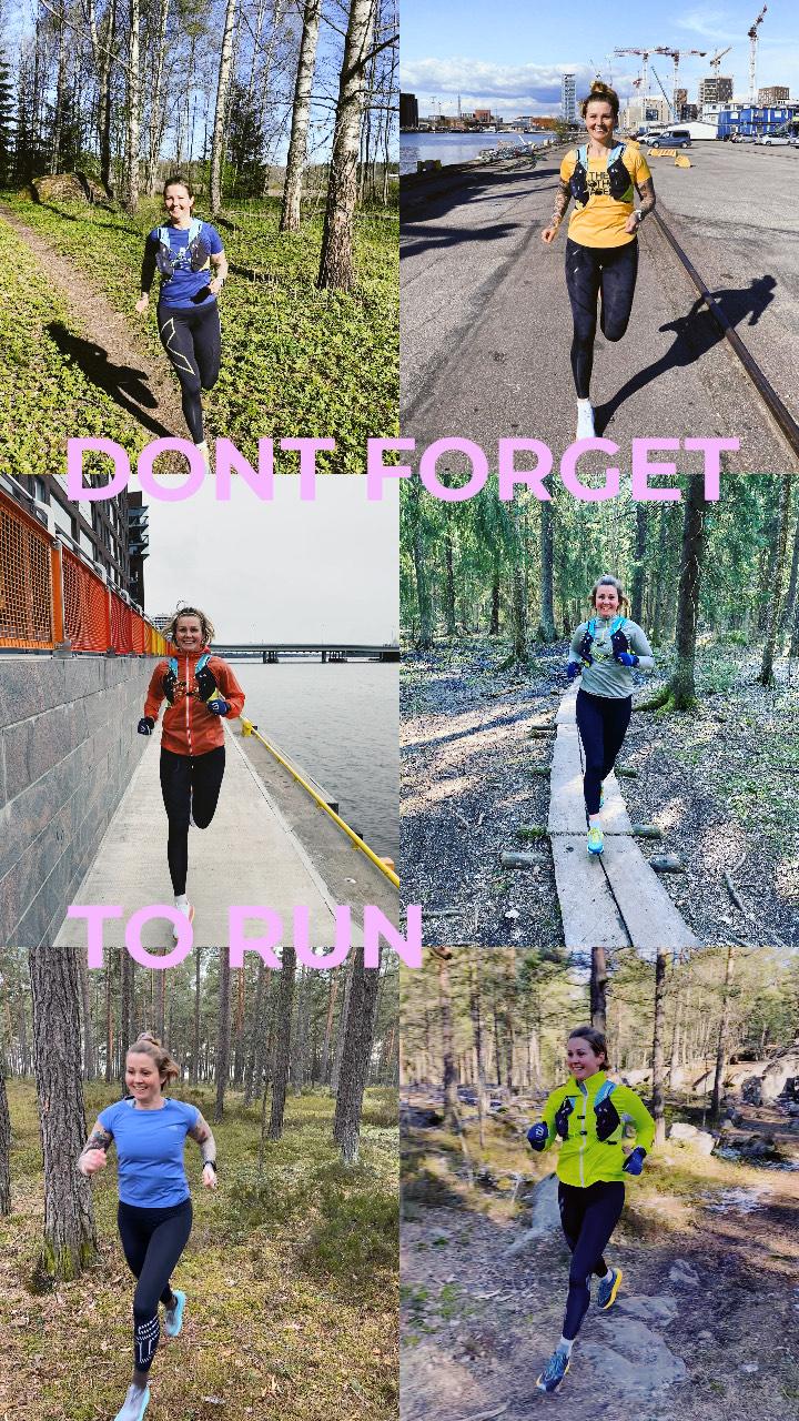 Kolme juoksutreeniä viikossa – näin juoksen juuri nyt