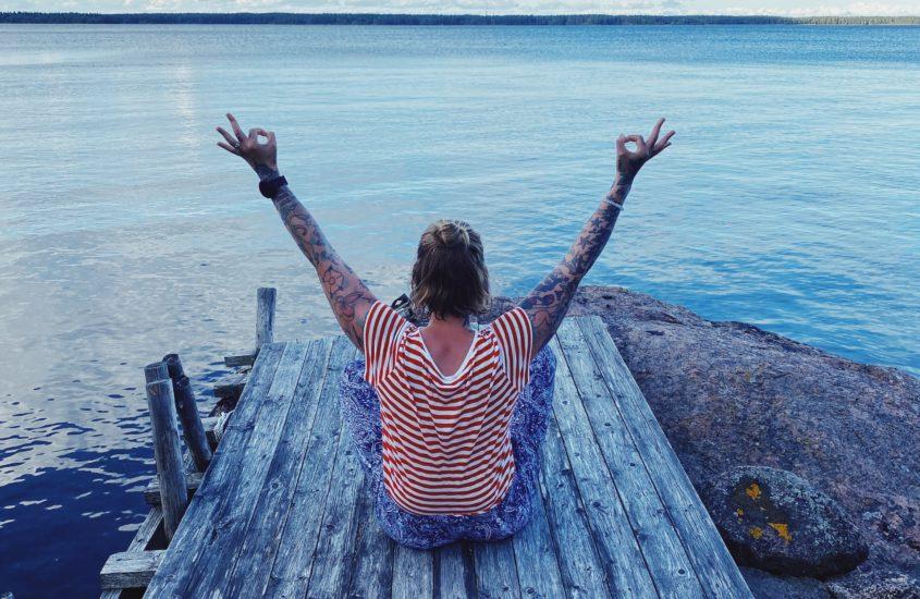 Onko se, ettei aina paina sata lasissa, laiskuutta tai luovuttamisen merkki?